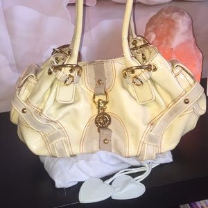 Juicy Couture patent leather hobo purse